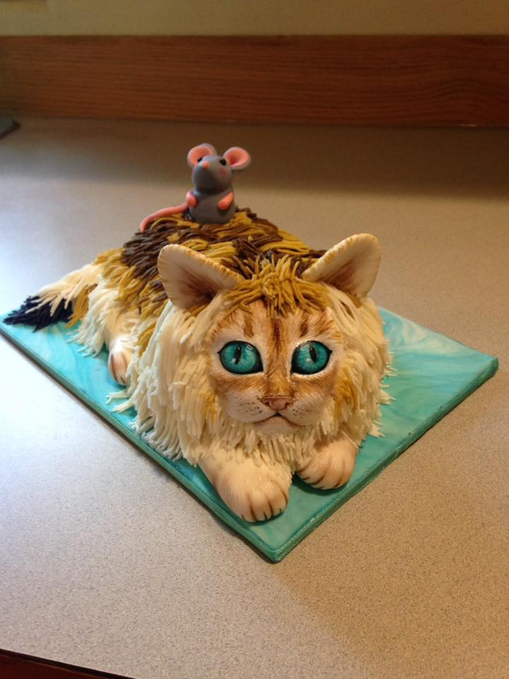 All Vegan Cat Cake