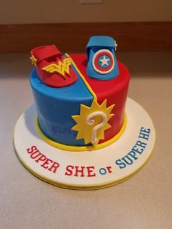 Super Hero Gender Reveal