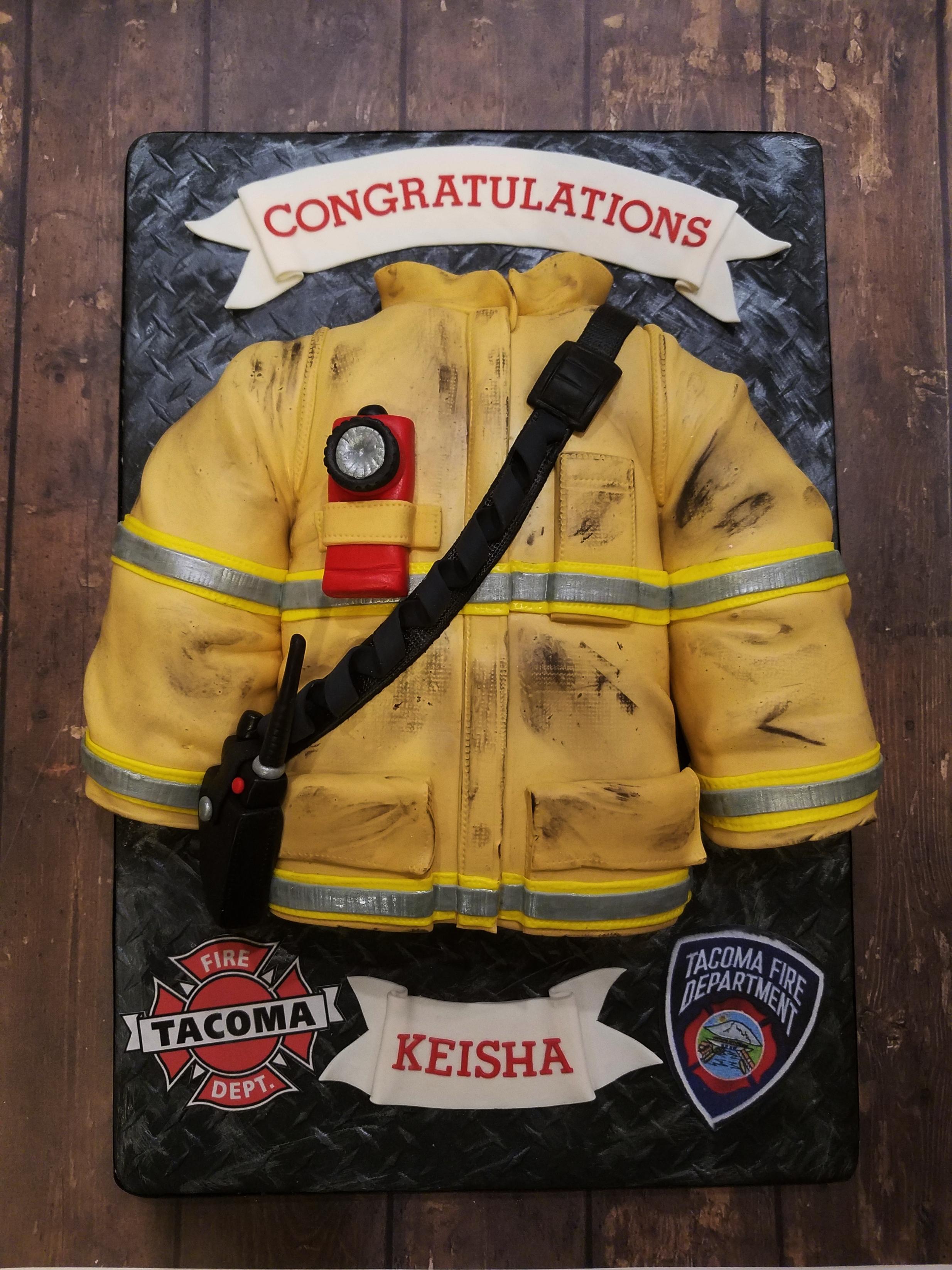 Fire Fighter Graduation