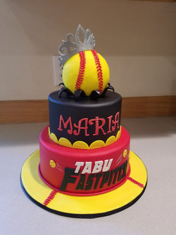 It's a home run with this cake!
