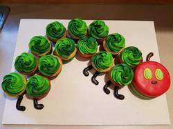 The Hungry Caterpillar Cupcake set
