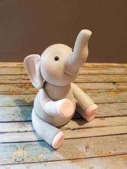 Baby Elephant Keepsake Topper