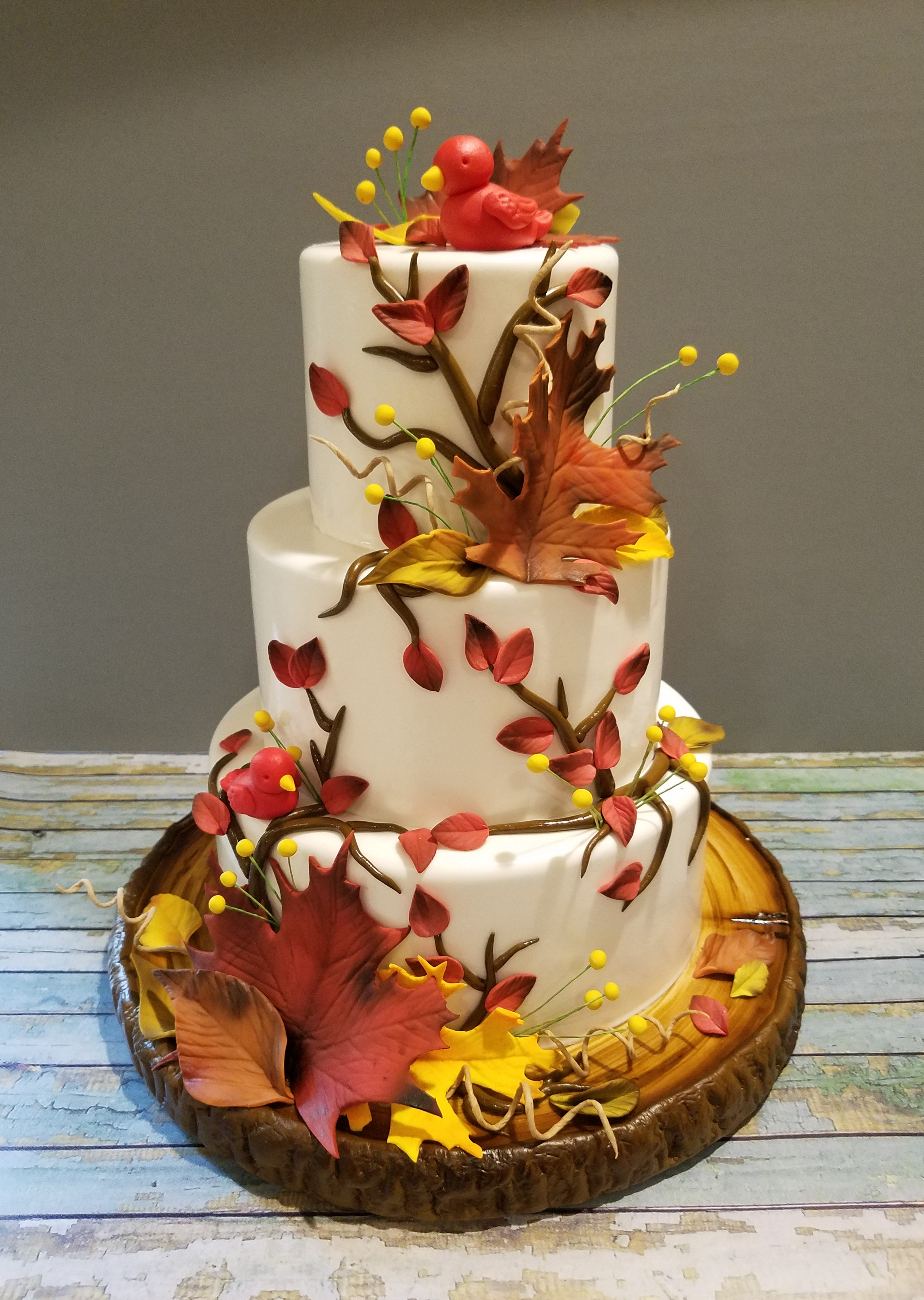 Fall Wedding Cakes.Wedding And Anniversary Cakes Whimsycakesbydee