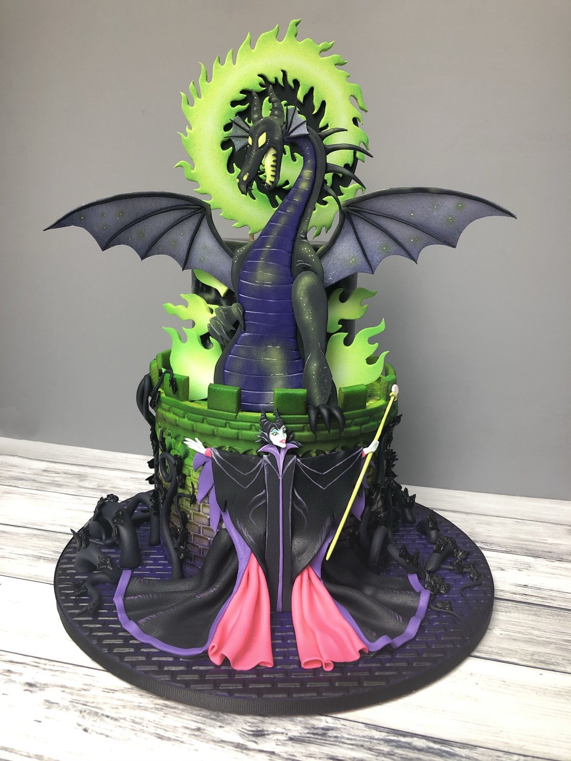 Disney's Maleficent And The Dragon