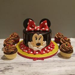 Sweet Minnie cake set
