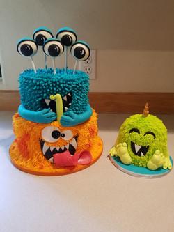 Monster cake set