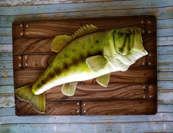 Sculpted fish cake