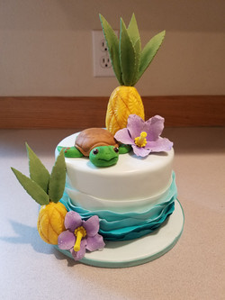Mini tropical cake