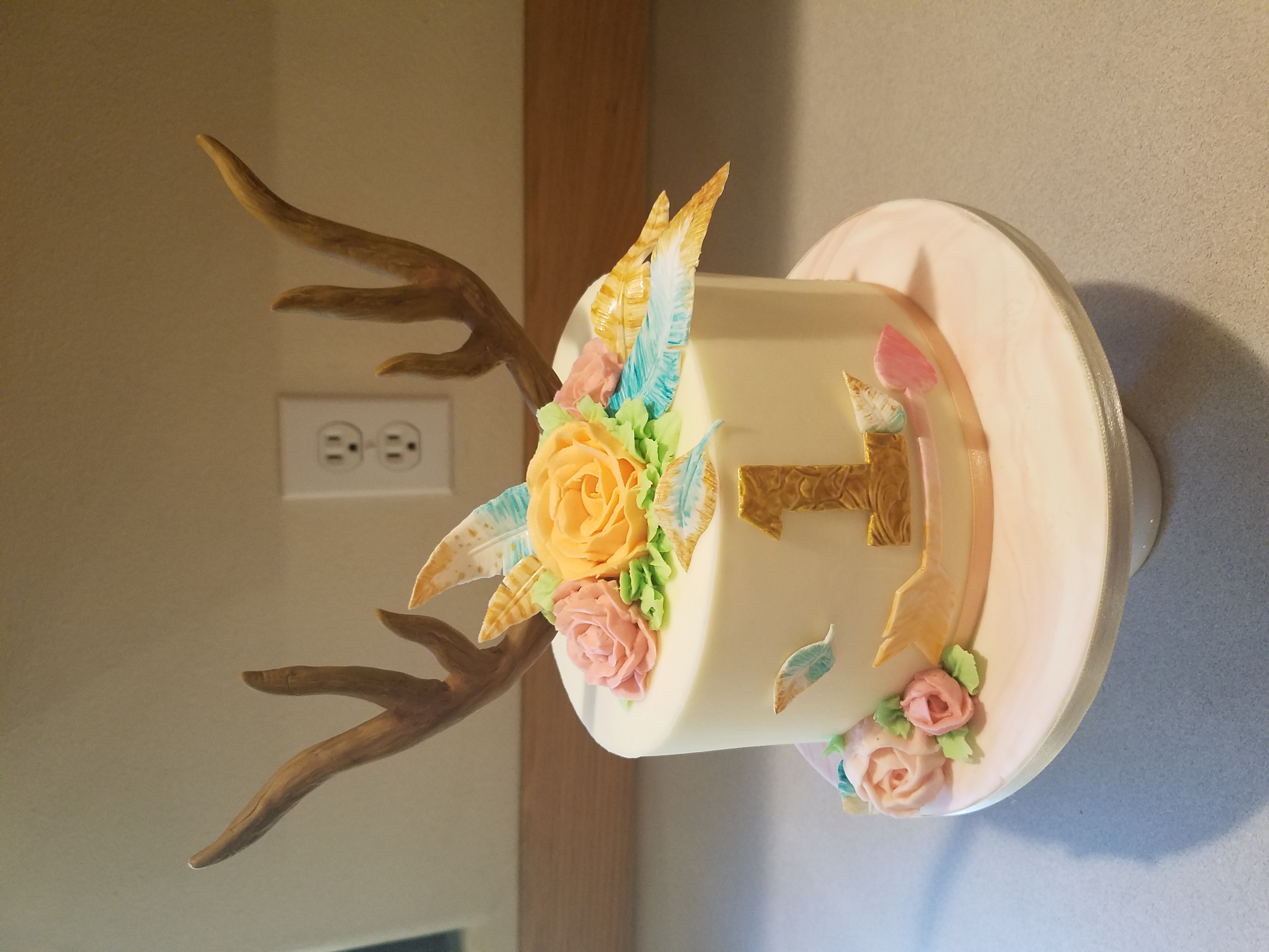 Boho smash cake