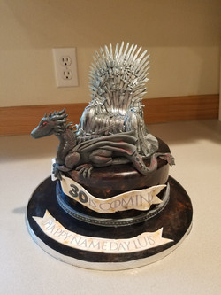 Game Of Thrones Inspired Cake