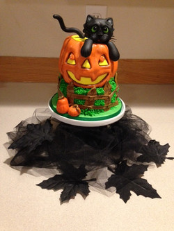 Contest cake for Halloween