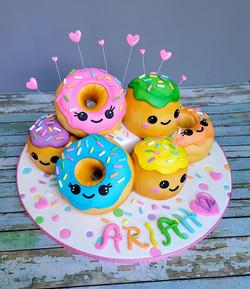 Rainbow Donuts!!