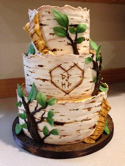 Birchwood tree cake