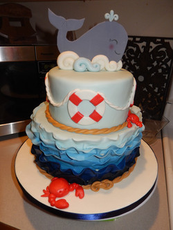 Sailors themed baby shower