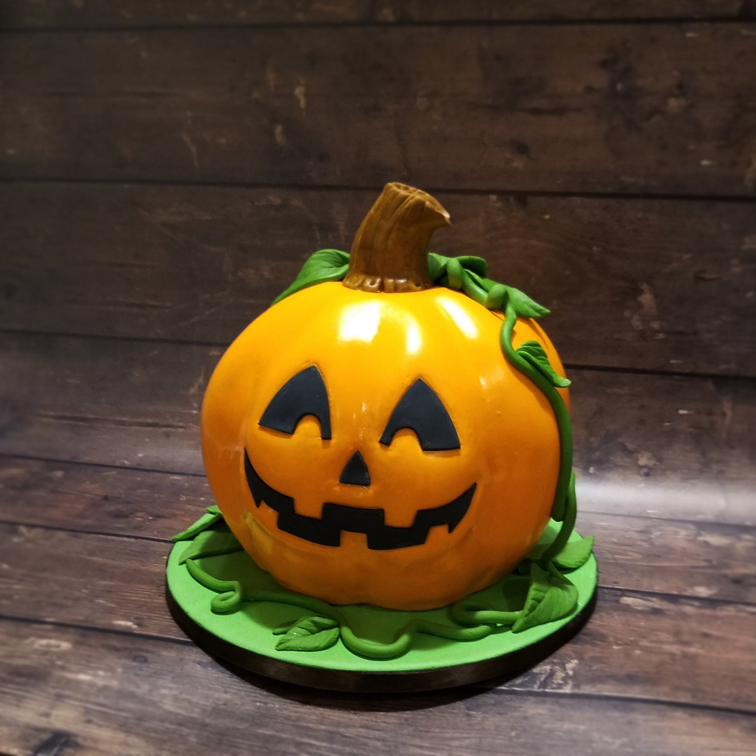 Cute little pumpkin smash cake