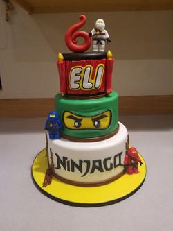 Ninjago Ninja cake