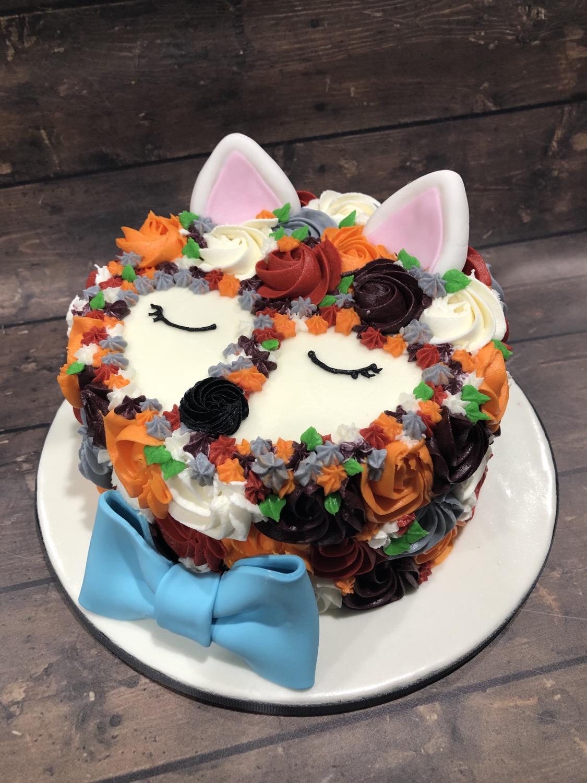 Fox Smash Cake