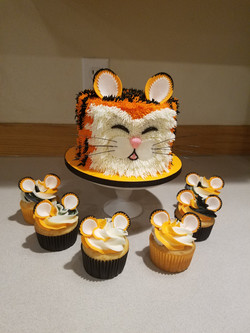 Grrrrr a tiger cake