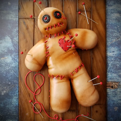 Voodoo Doll for a Halloween party