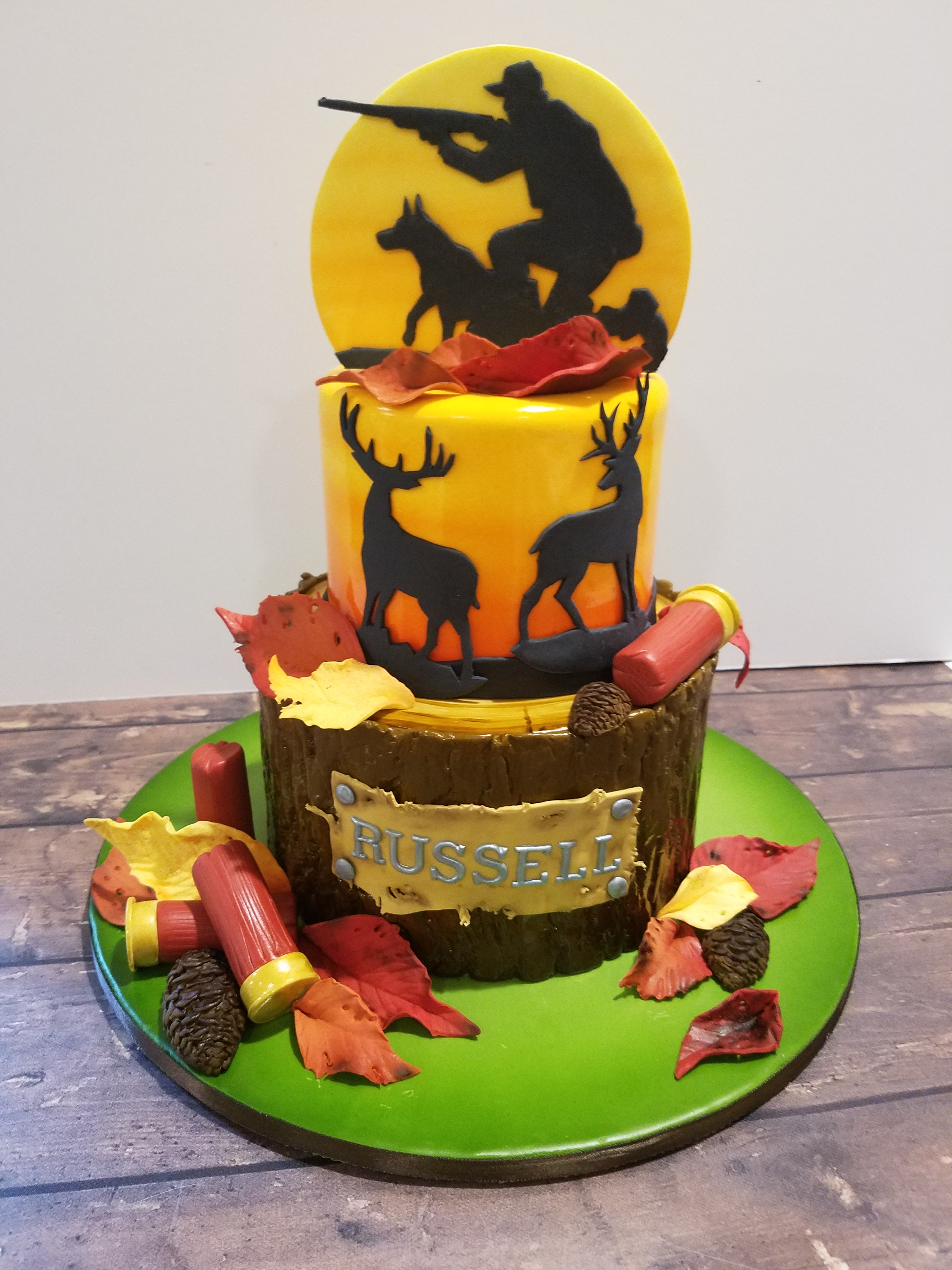 Autumn Hunters cake