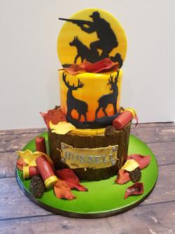 Autumn Hunters cake