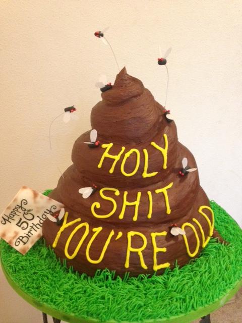 """Turd"" Cake"
