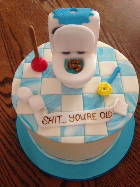 Mini Toilet Cake