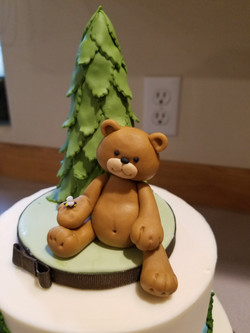 Baby Bear Keepsake Topper