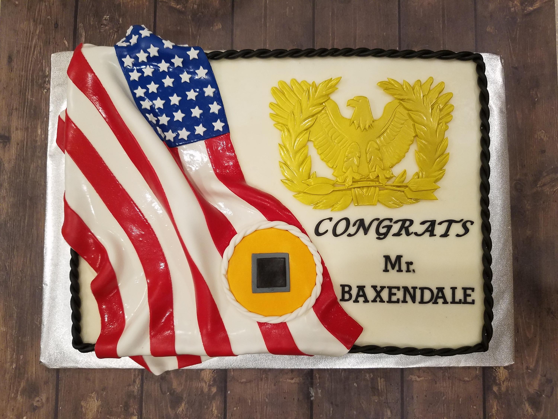 Promotion Sheet Cake
