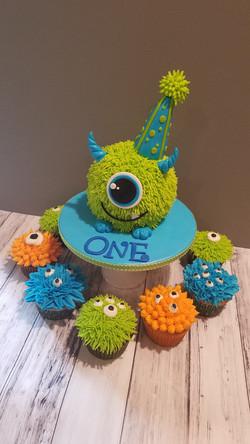 Monster cakes set