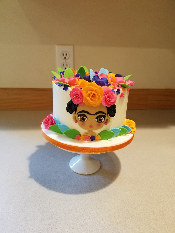 Frida Kahlo smash cake