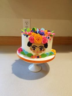 Frida Kahlo smash cake
