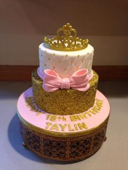 Young ladies princess cake