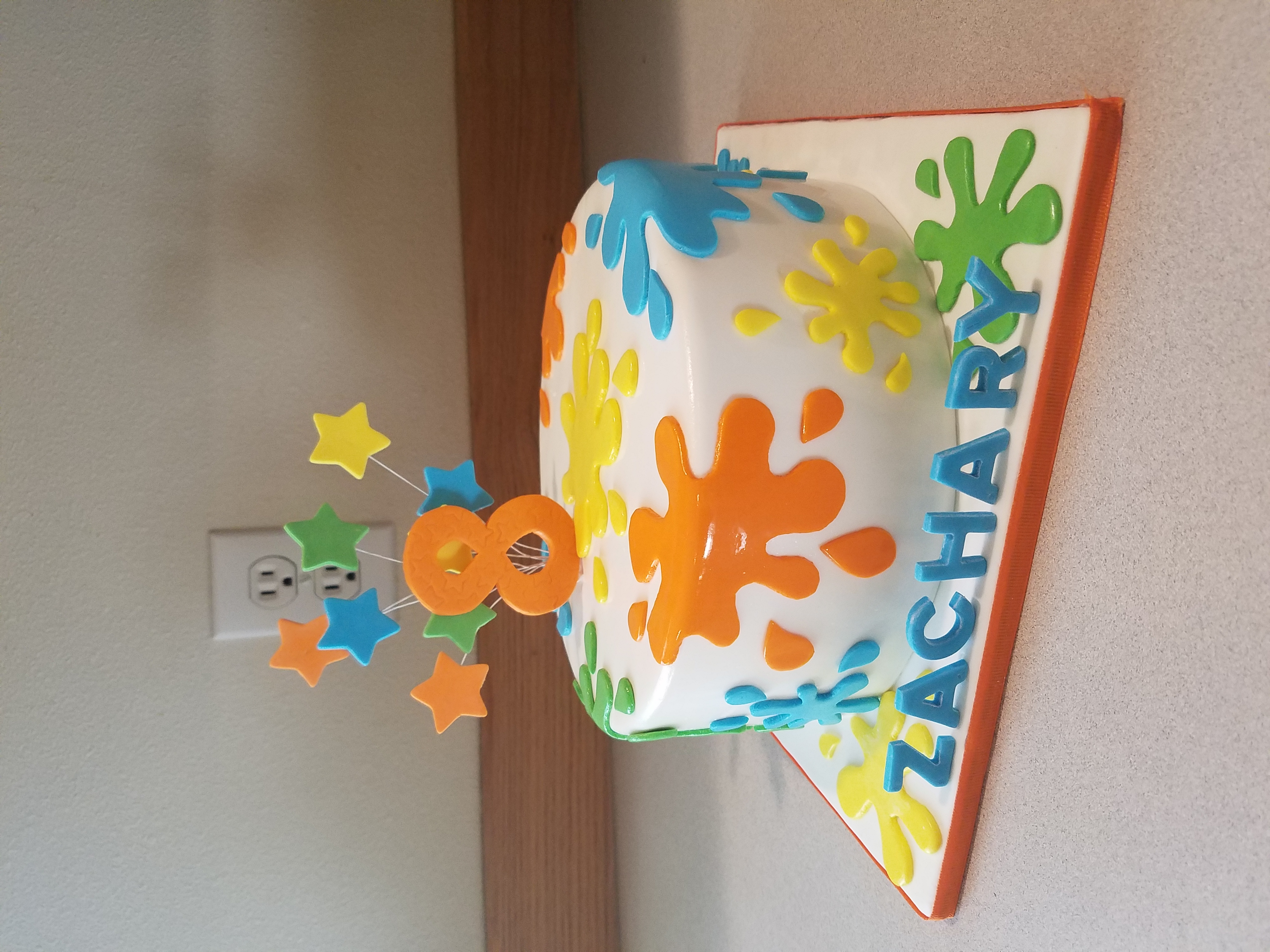Splatter Cake!