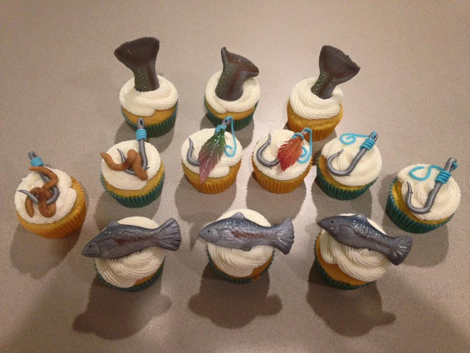 Gluten Free Fishing Cupcakes
