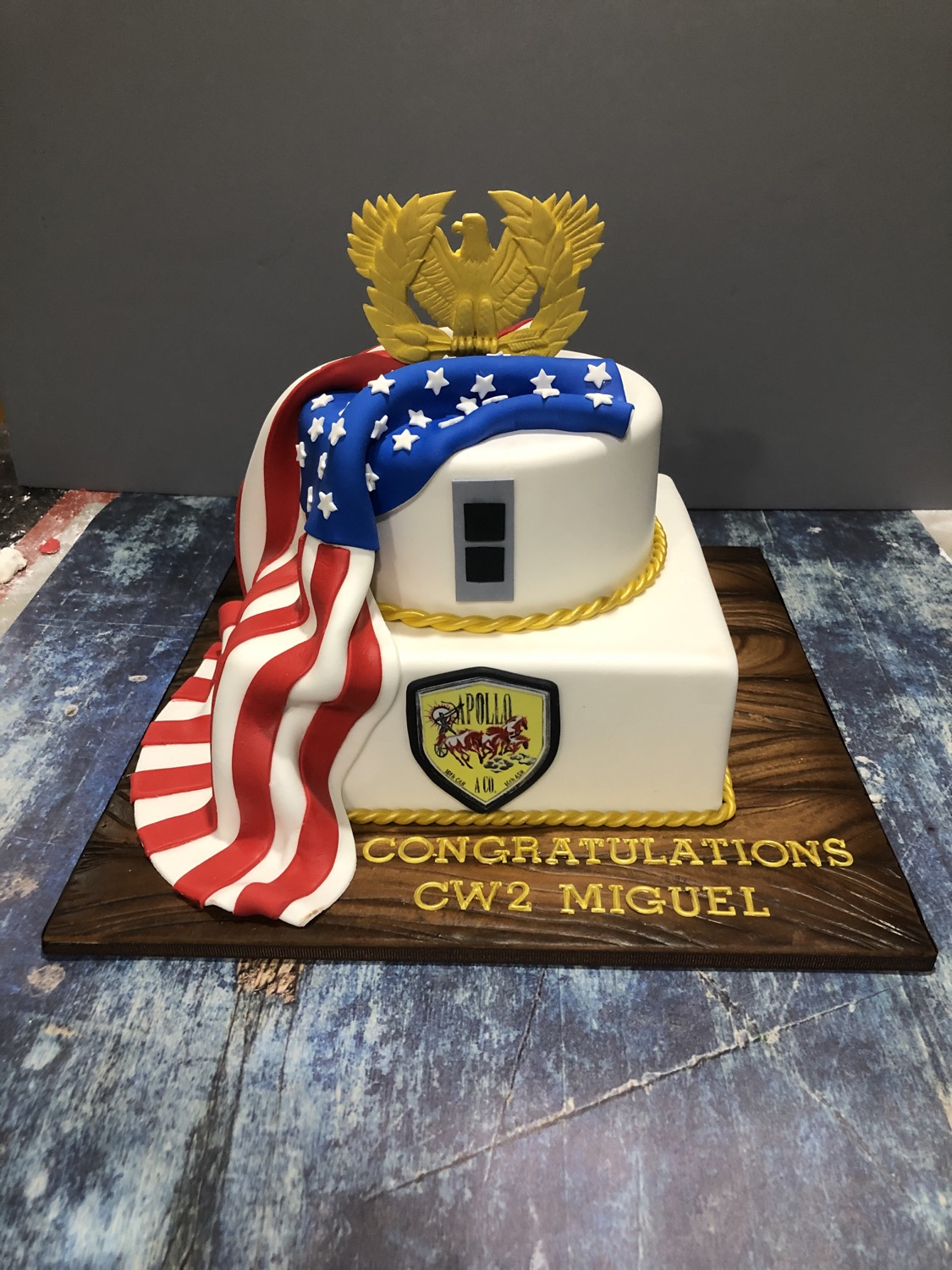 Smaller Promotion Cake