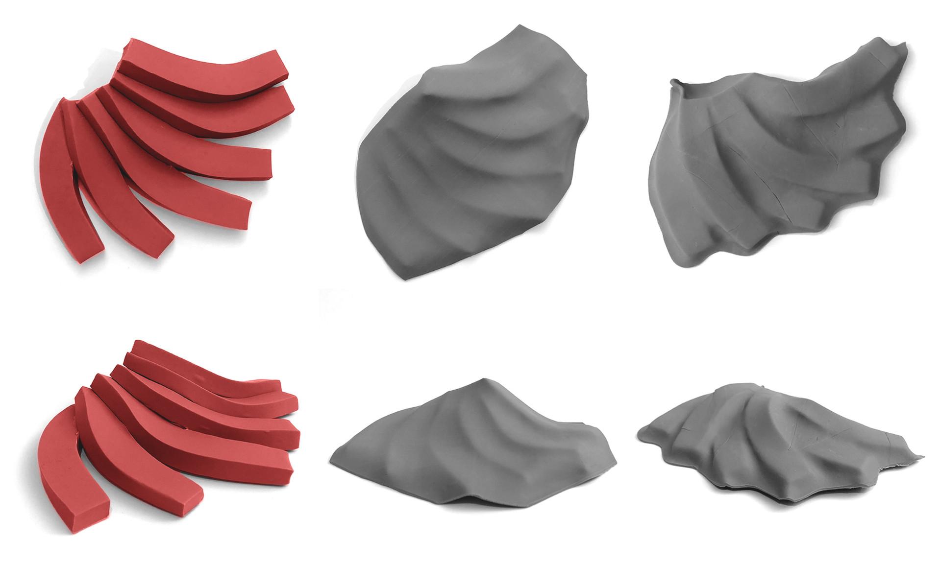 Sculpey Study Models