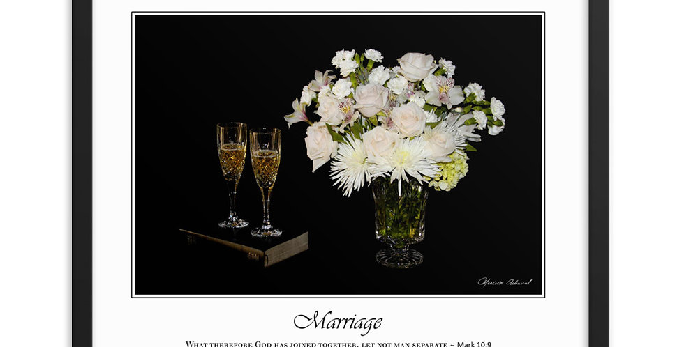 Marriage - Premium Framed Poster