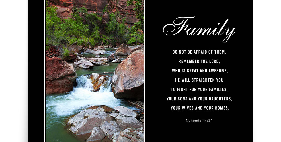 Family - Premium Poster