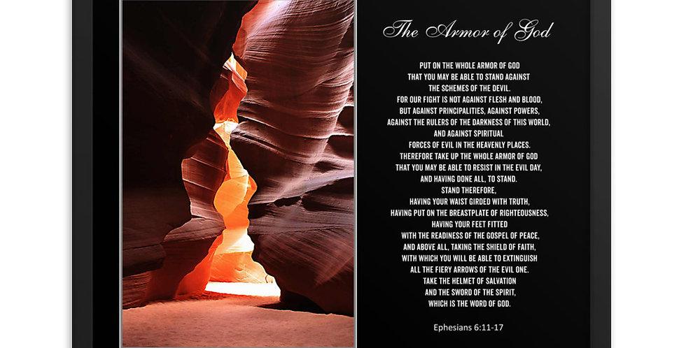 The Armor of God - Premium Framed Poster