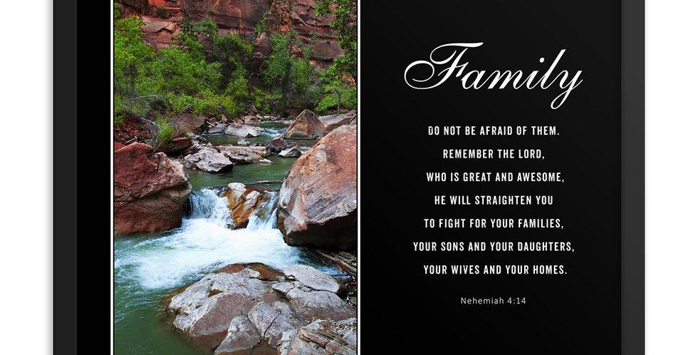 Family - Premium Framed Poster