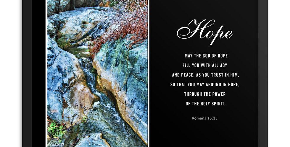 Hope - Premium Framed Poster