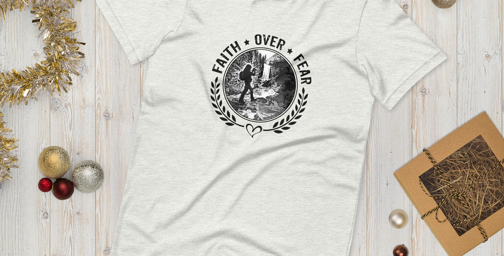 Faith Over Fear - Premium Unisex T-Shirt