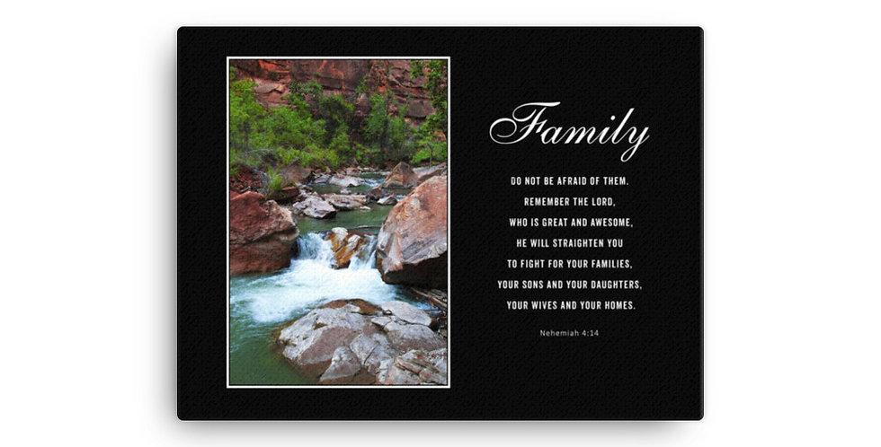 Family - Premium Canvas