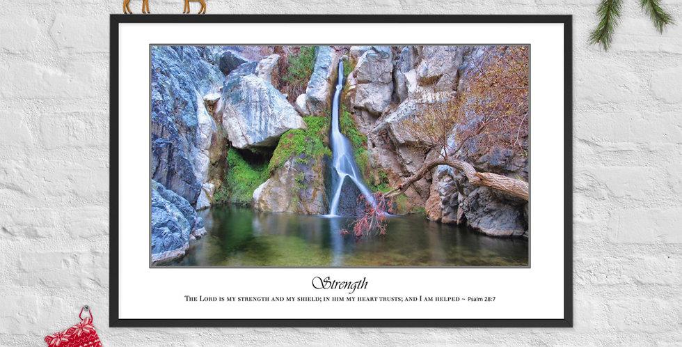 Strength - Premium Framed Poster