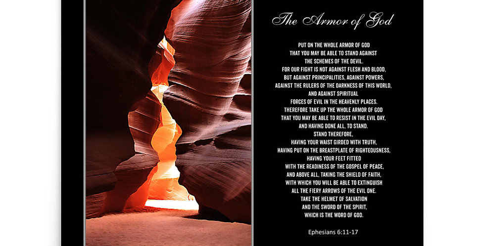The Armor of God - Premium Poster