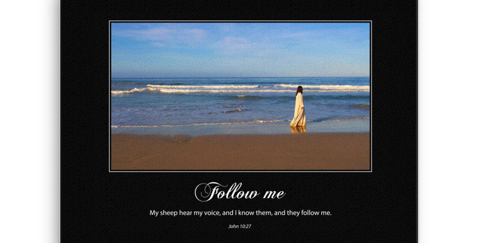 Follow Me - Premium Canvas