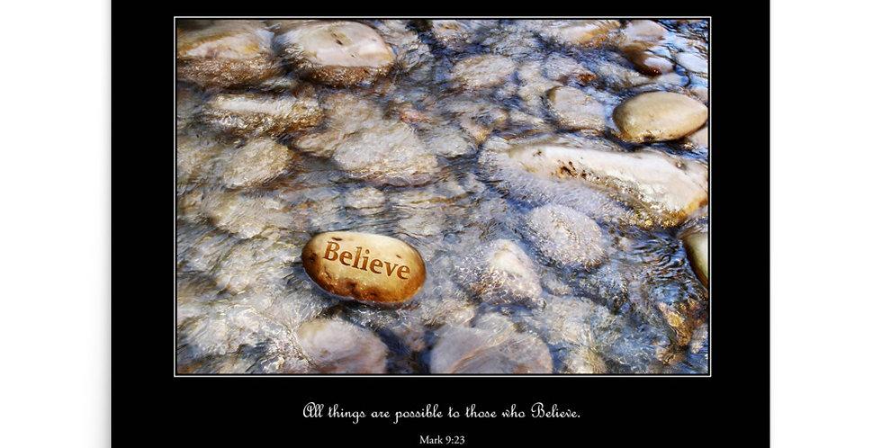 Believe - Premium Poster