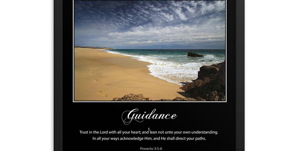 Guidance - Premium Framed Poster