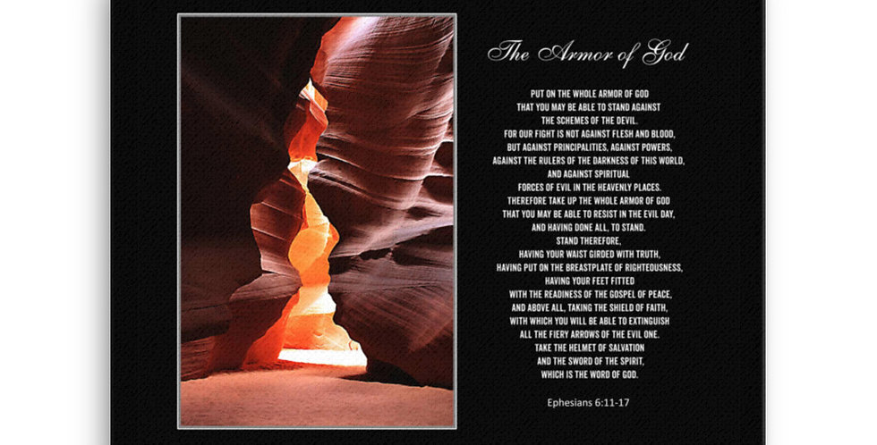 The Armor of God - Premium Canvas